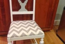 Upcycling furniture / Thrift stores are the perfect source for finding furniture to refinish / by Riley's Treasures of Branson, MO