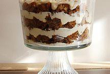 Trifles / Delícias cremosas em camadas.