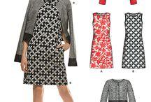 Jacket sewing patterns and fabrics