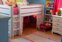 Shared spaces - Kid rooms / by Jenn Nelson