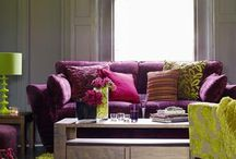 Indian/Moroccan living / Living décor in a Moroccan or Indian style