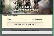 FOR HONOR ACTIVATION CODE FREE