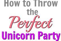 unicorn party for Iannah