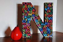 Crafts: Decorative Painting/ Letters/Signs / by LindaDavid Hardison