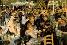Impressionnisme / Histoire des Arts : XIXème s. // L'impressionnisme est né dans la seconde moitié du XIXe siècle. Ce mouvement marqua la rupture de l'art moderne avec l'académisme. / by Valérie WINTZ