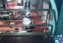 Barandillas en el Casino Kursaal de San Sebastián-Donostia / Fotografías de una barandilla de acero inoxidable para el Casino Kursaal de San Sebastián-Donostia. #casino #kursaal #donostia #juego #poker #partevieja