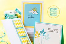 Cards / Cards. Clean and Simple Cards - tips, tricks, ideas, designers and products. #cardmaking #papercrafts #stamping #CAS