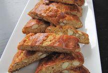 Cantucci / biscotti cantucci nelle loro varie declinazioni