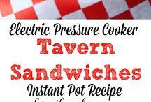 pressure cooker-instant pot