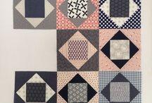 quilts: economy blocks