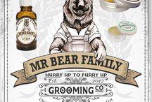 MR BEAR FAMILY llega a EUROSTIL / Productos de barbería para el cuidado de la barba, bigote y el rostro. Con aceites y ceras naturales. Desde Suecia a Eurostil