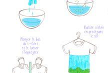 Batik o. färgning