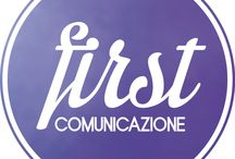 First Comunicazione / Coordina e gestisce i brand nel processo creativo, nel piano comunicativo e nell'organizzazione pubblicitaria. Crea la campagna, organizza la promozione del prodotto, pianifica le uscite pubblicitarie. Organizza presentazioni, eventi e sfilate che possano riflettere l'immagine dell'azienda, coordina gli uffici stampa e le PR. Genera e gestisce rapporti con agenzie di marketing, web marketing, studi stile, pubblicitari, fashion graphic, fashion blogger, fotografi e fornitori di servizi.