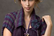 Yarn arts/knit/shrugs and ponchos / by Linda Bell