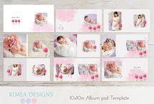 newborn photobook design