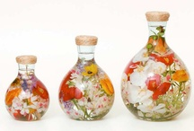 flowers in vases / by Carole Minery Lauderbaugh