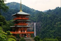 Temple Seiganto-ji / Seiganto-ji is the first temple of the Saigoku pilgrimage. The temple is located in the east of Wakayama prefecture next to  Japan´s highest waterfall Nachi-no-taki.