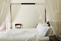 Bedrooms / Home: There's no place like it. Though you might venture far and wide, there's nothing like sleeping in your own bed. Here are some of our sanctuaries for the best kind of R&R...
