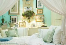 bedrooms / a comfy place to slip off to dreamland.