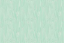 mint orange gray patchwork