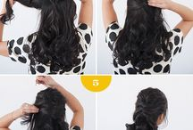 Hair tutorials / Hair do's / by Abi Mead