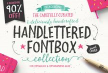 Font and Lettering
