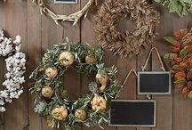 Wreaths couronnes naturelles