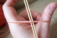 pletení / pletení