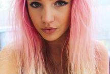 Pink hair envy