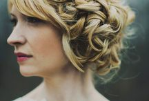 Unique wedding hair styles / Thinking out the box for your special day