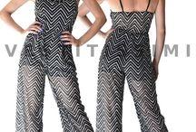 Overall tuta intera tutina jumpsuit donna abito clubwear pantaloni nuova top