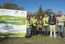 """Plantemos por el Planeta / Esta es la acción local de """"Plantemos por el Planeta"""" desarrollada por Yves Roches España en 2013, gracias al apoyo de todos nuestros clientes."""