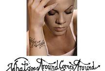 P!nk's Tattoos