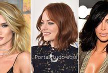 Cabelo Feminino 2016 / Cabelos femininos moda e tendências de corte, cores e penteados