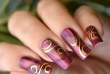 Long Nails - Uñas largas / Uñas largas, Long Nails, decoracion de uñas, uñas decoradas, nail art, nailart