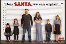 Silly Christmas photos!