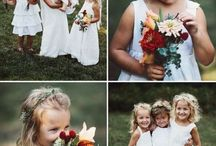 Flower girls / Page boys / Flower girl, Flower girl flower crown, Flower girl posy, Flower girl flowers, Page boy, Page boy boutonniere, Page boy buttonhole