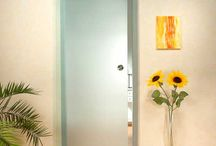 Glass Doors / Transparent and elegant detail to you indoor and outdoor home interior