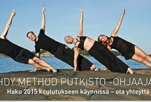 Method Putkisto / The Finnish health expert and Pilates teacher, Marja Putkisto, has developed her Method Putkisto exercise programmes for body over 25 years, and offers courses and workshops at her studio in west London. (pronunciation: put-kiss-taw)