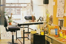 Inspire Studio Ideas / Artists studio is their heart and soul. They are beautiful reflections of the artists craft