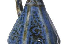 cobalt-blue glazed body