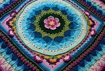 Crochet: Mandalas, table cloths/runners, rugs