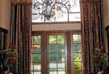 Ideas for Tall Windows / Ideas for decorating tall windows