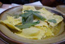 Italian Food & Vistas / Italian food and gorgeous vistas!