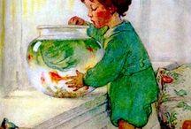 Art Inspirations  CHILDREN'S ILLUSTRATIONS / Illustrations of children and from children's books.