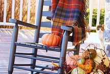 Autumn: Porch Decor Ideas / Just like there is tablescapes -I love to do Autumn Porch-scapes!