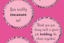 Teacher appreciation / by Amanda Hooks