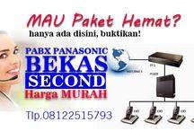 pabx semarang / Pusat distributor toko penjualan dan teknisi service setting pabx Panasonic second lama baru bekas dengan harga murah bergaransi resmi di semarang jawa tengah Indonesia