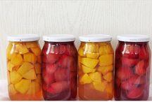 kışlık meyva konservesi