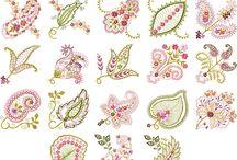 embroidery - vyšívání